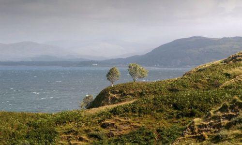 Zdjecie SZKOCJA / Shoe Bay / Orban / Spokojne morze