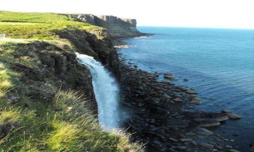 Zdjecie SZKOCJA / - / Skye Island / wodospad przy Kilt Rock