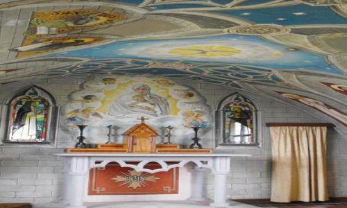Zdjęcie SZKOCJA / - / Orkady / wnętrze Italian Chapel