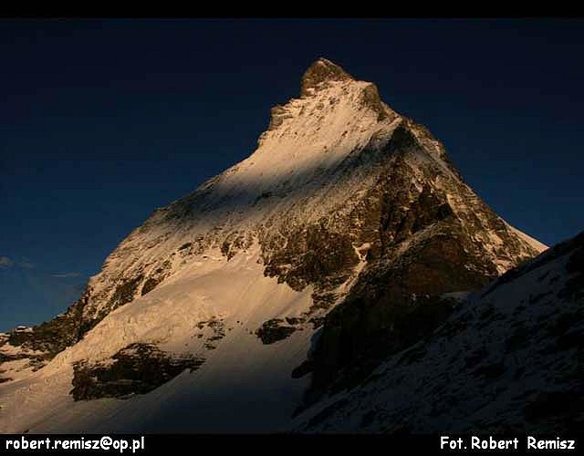 Zdjęcia: Matterhorn, Alpy, PIRAMIDA  EUROPY, SZWAJCARIA
