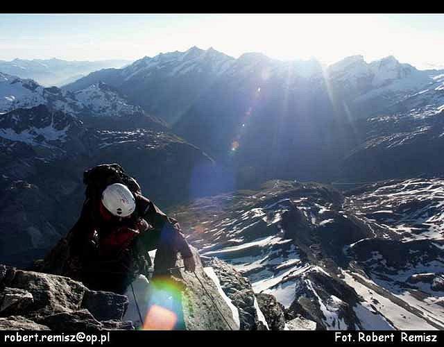 Zdjęcia: Matterhorn, Alpy, PIRAMIDA  EUROPY  II, SZWAJCARIA