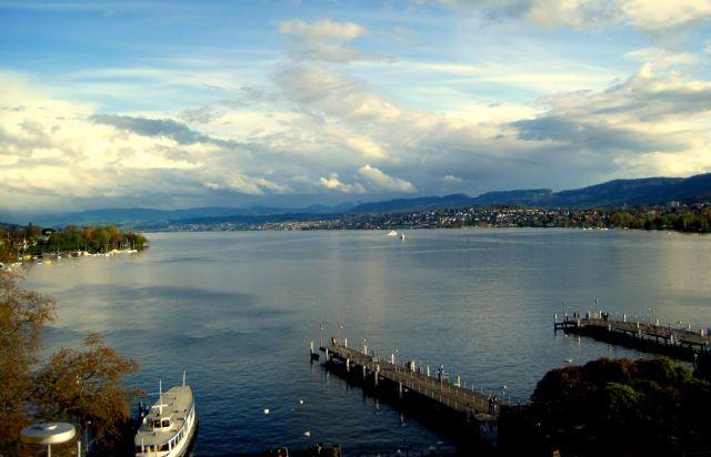 Zdjęcia: zurich, zurich, Zurich lake, SZWAJCARIA