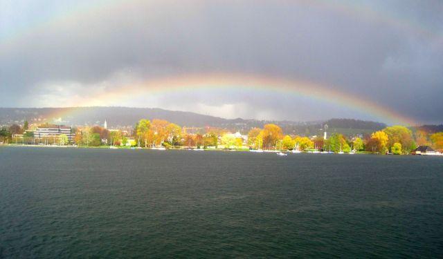 Zdjęcia: Zurich, Zurich, Rainbow, SZWAJCARIA