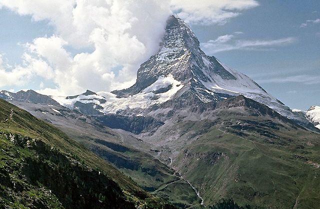 Zdjęcia: Matterhorn, ALpy, Symbol Alp, SZWAJCARIA