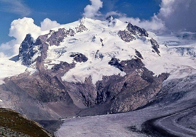 Zdjęcia: Masyw Monte Rosa, ALpy, Monte Rosa, SZWAJCARIA