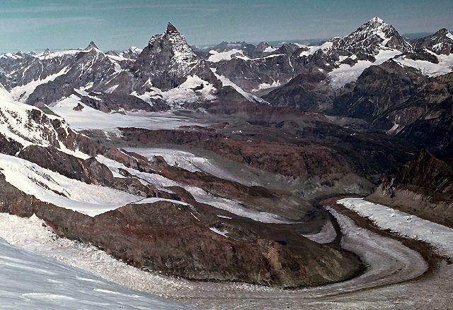 Zdjęcia: Na szczycie Dufourspitze, ALpy, Na szczycie..., SZWAJCARIA