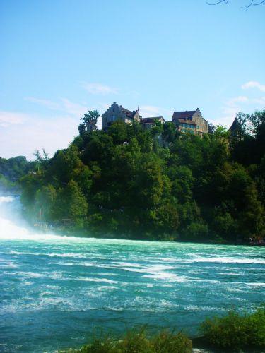 Zdj�cia: neuhausen, -kanton aagau, najwiekszy wodospad w europie, SZWAJCARIA