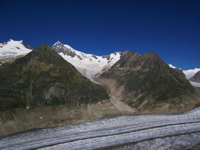 Zdj�cia: Aletschgletscher, Alpy szwajc., kupa lodu, SZWAJCARIA
