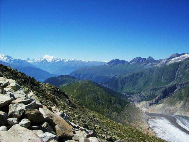 Zdjęcia: Aletschgletscher, Alpy szwajc., kupa lodu, SZWAJCARIA