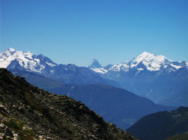 Zdjęcia: Aletschgletscher, Alpy szwajc., alpejski widok, SZWAJCARIA