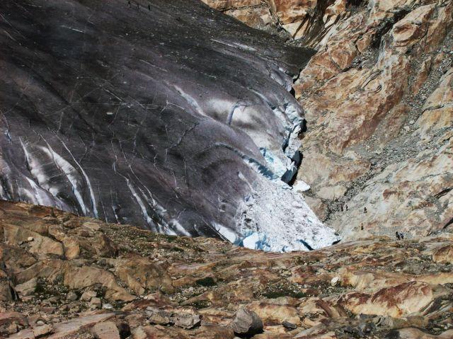 Zdjęcia: Aletschgletscher, Alpy szwajc., mega slizgawka, SZWAJCARIA