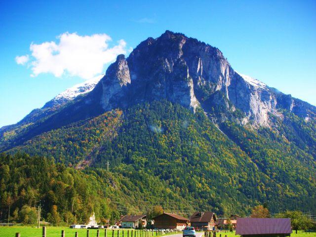 Zdj�cia: gdzies za bernem, w drodze do alp, SZWAJCARIA