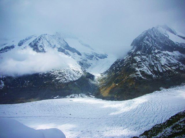 Zdj�cia: eggishorn, no i juz lodowiec-aletschgletscher, SZWAJCARIA