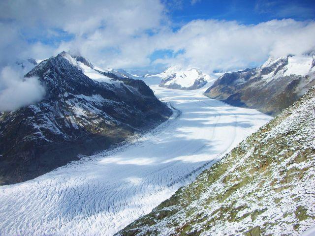 Zdj�cia: eggishorn, no i juz lodowiec-aletschgletscher-eggishorn, SZWAJCARIA