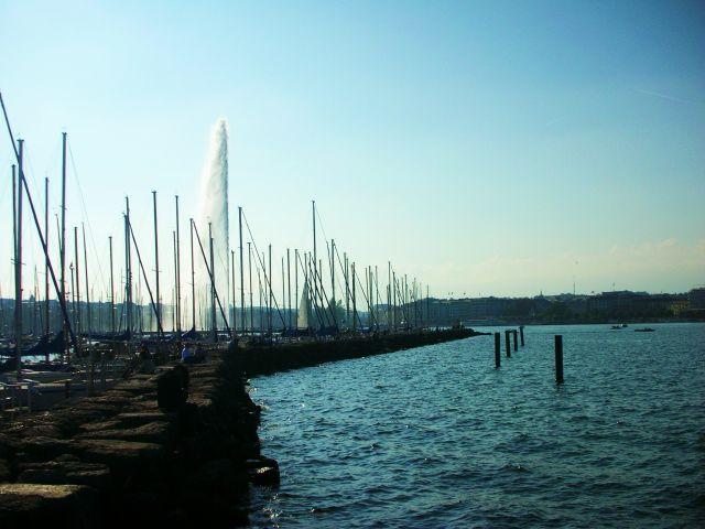 Zdjęcia: genewa, jezioro genewskie, SZWAJCARIA