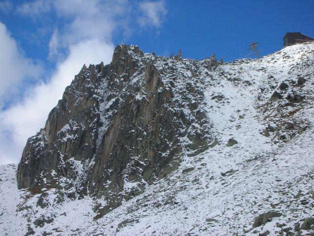 Zdjęcia: eggishorn, Alpy szwajc., sciana wspinaczkowa, SZWAJCARIA