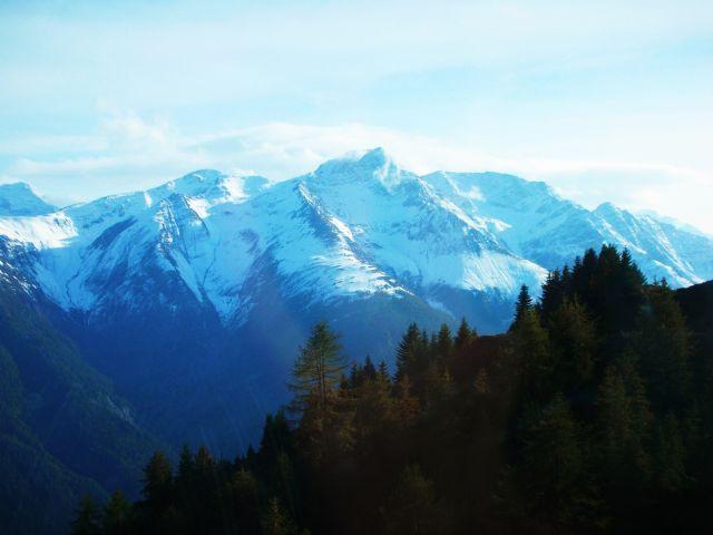 Zdjęcia: eggishorn, Alpy szwajc., widoczek, SZWAJCARIA