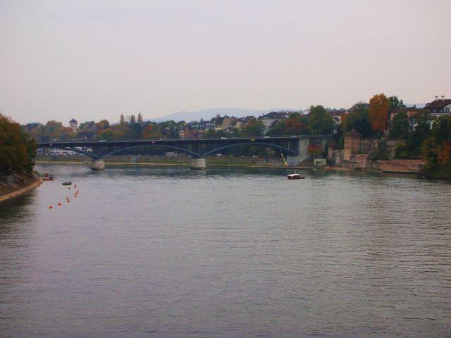 Zdjęcia: basel, widok z mostu, SZWAJCARIA