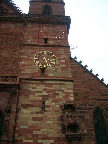 Zdj�cia: basel, czesc katedry, SZWAJCARIA