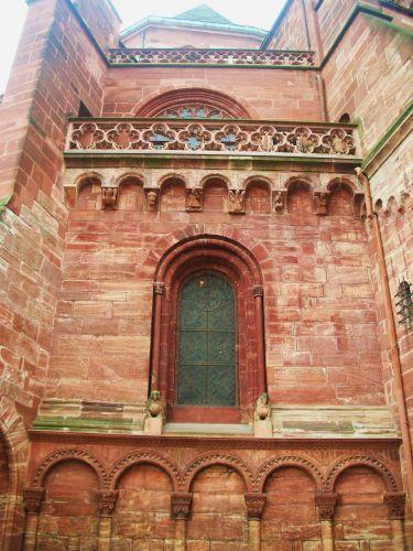 Zdjęcia: basel, czesc katedry, SZWAJCARIA