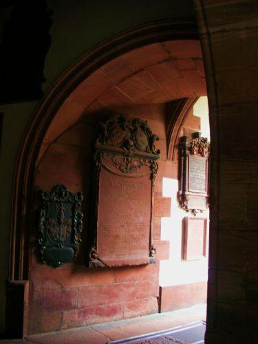 Zdj�cia: basel, wnetrze katedry, SZWAJCARIA