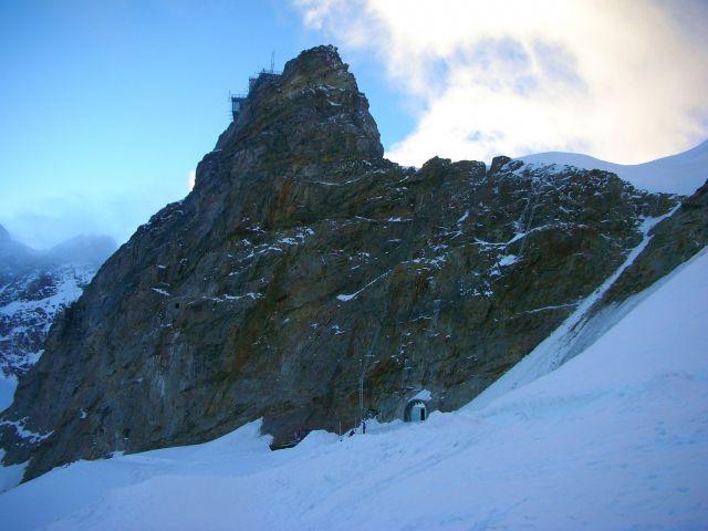 Zdjęcia: szczyt jungfraujoch, Alpy szwajc., widok na jungfraujoch, SZWAJCARIA