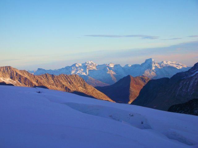 Zdj�cia: szczyt jungfraujoch, Alpy szwajc., widok z jungfraujoch, SZWAJCARIA