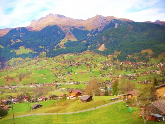 Zdjęcia: griendelwald, Alpy szwajc., widoczek, SZWAJCARIA