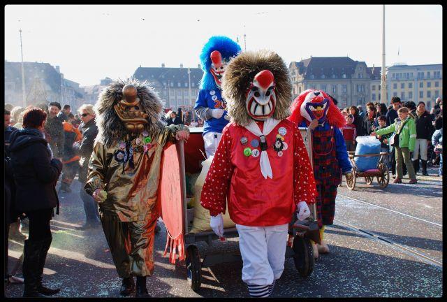 Zdj�cia: Basel, karnawal w Basel, SZWAJCARIA
