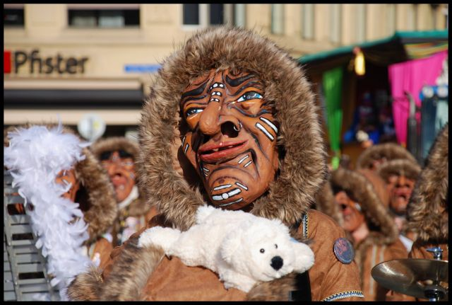 Zdjęcia: Basel, karnawal w Basel, SZWAJCARIA