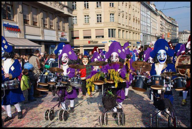 Zdjęcia: Basel, karnawal w Basel , SZWAJCARIA