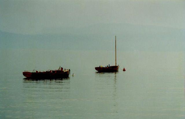 Zdjęcia: Jezioro Genewskie, Szwajcaria, Na jeziorze, SZWAJCARIA