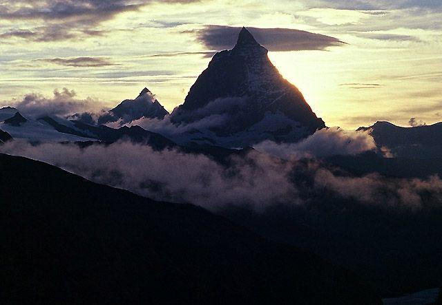 Zdjęcia: Matterhorn, Zermat, Symbol Alp, SZWAJCARIA