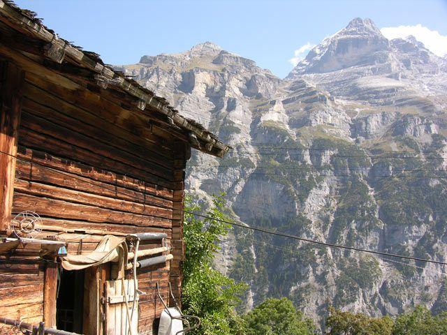 Zdjęcia: Interlaken, Alpy, Prawie jak Tatry, SZWAJCARIA