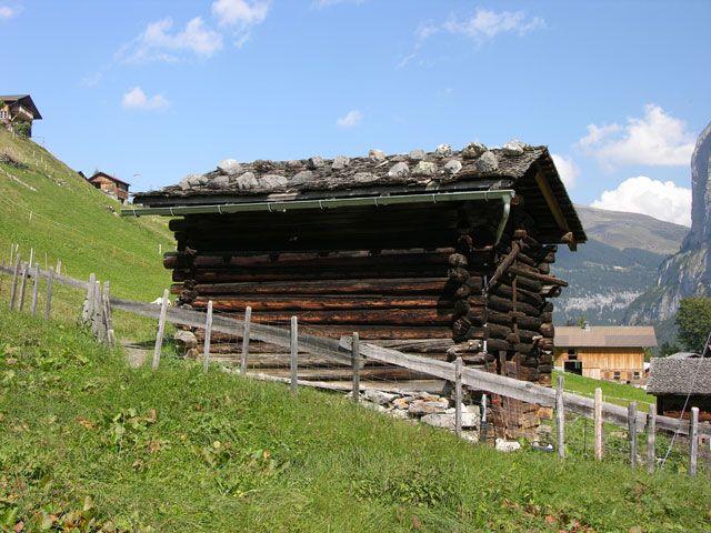 Zdjęcia: Interlaken, Alpy, Bacówka, SZWAJCARIA
