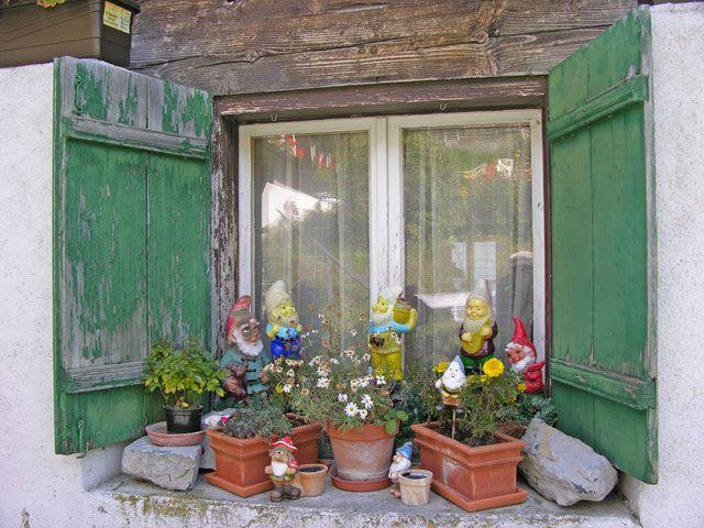 Zdjęcia: Interlaken, Okno, SZWAJCARIA