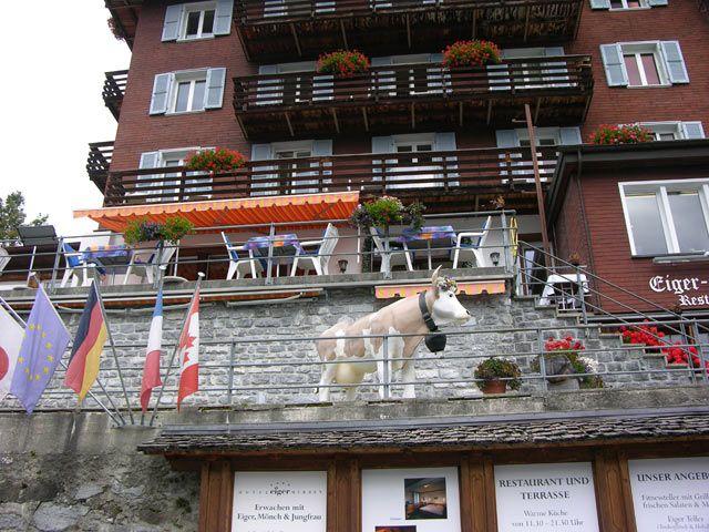 Zdjęcia: Interlaken, Totem, SZWAJCARIA