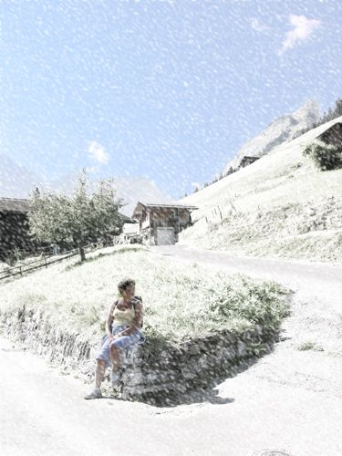 Zdjęcia: Interlaken, Zima latem, SZWAJCARIA