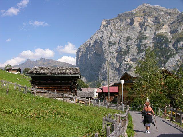 Zdjęcia: Interlaken, Bariera, SZWAJCARIA