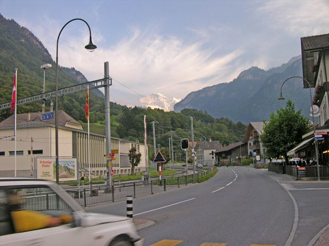 Zdjęcia: Interlaken, Złota góra, SZWAJCARIA