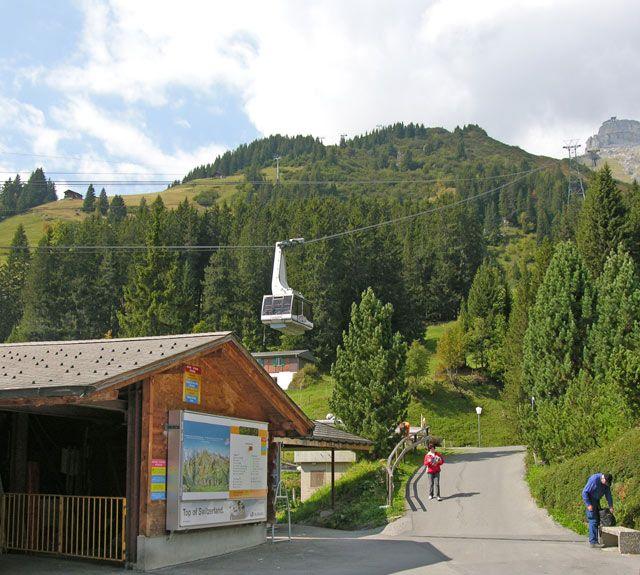 Zdjęcia: Interlaken, Kolejka, SZWAJCARIA