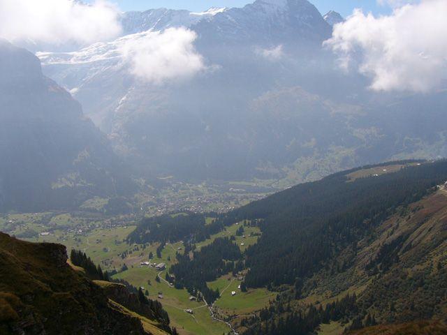Zdjęcia: Interlaken, Z lotu ptaka, SZWAJCARIA
