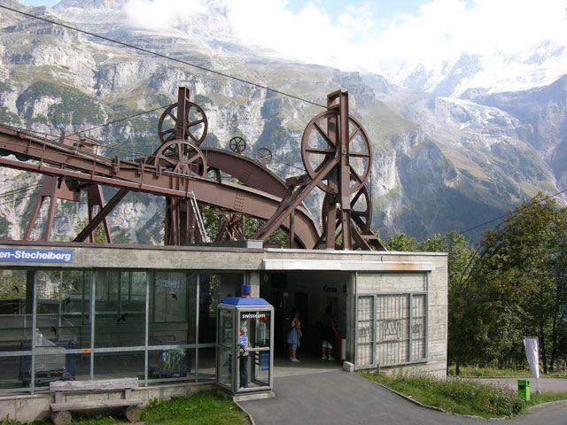 Zdjęcia: Interlaken, Stacja, SZWAJCARIA