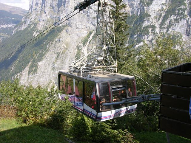 Zdjęcia: Interlaken, Wagonik, SZWAJCARIA
