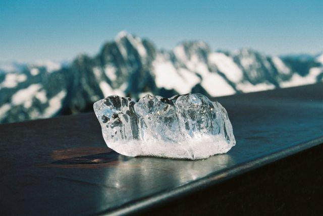 Zdjęcia: Chamonix, Alpy, Kropla lodu, SZWAJCARIA