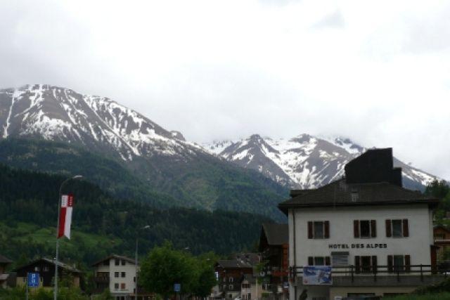 Zdjęcia: Fiesch, hotel w Alpach szwajcarskich, SZWAJCARIA