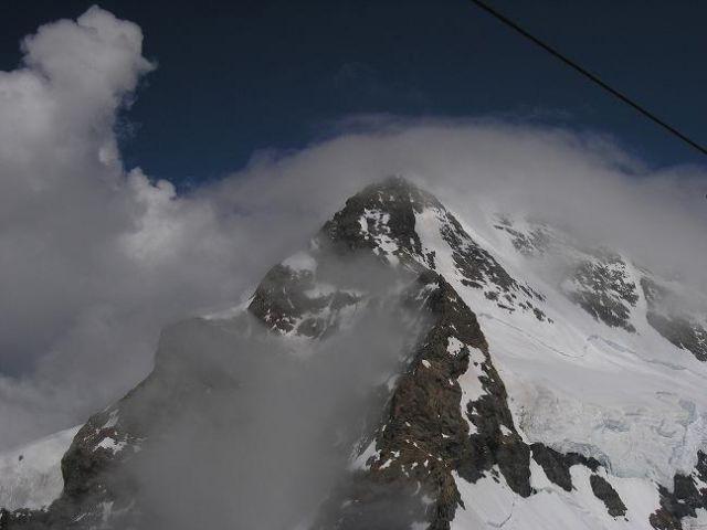 Zdjęcia: Przełęcz Jungfraujoch, Alpy Berneńskie , Widoczek 3, SZWAJCARIA