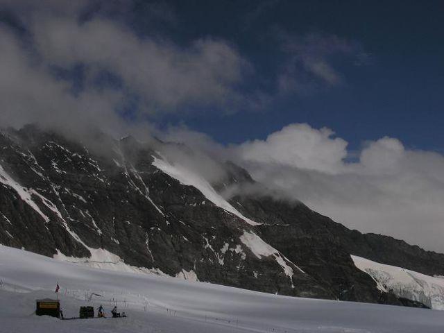 Zdj�cia: Prze��cz Jungfraujoch, Alpy Berne�skie , Widoczek 4, SZWAJCARIA