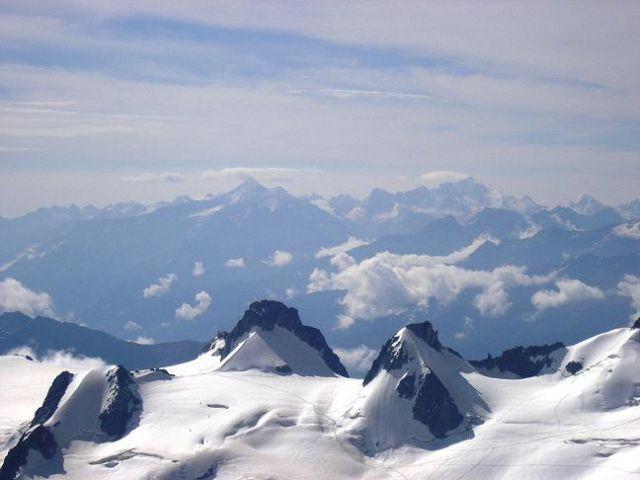 Zdjęcia: Przełęcz Jungfraujoch, Alpy Berneńskie , Widoczek 17, SZWAJCARIA