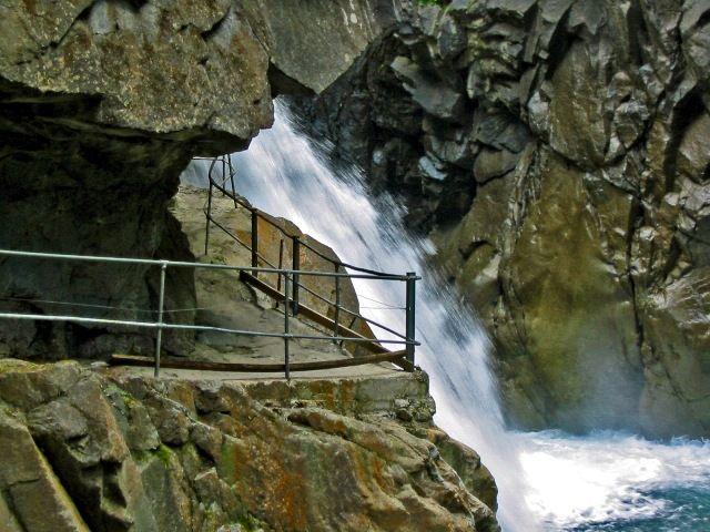Zdjęcia: ROFFLASCHLUCHT, WODOSPAD , SZWAJCARIA